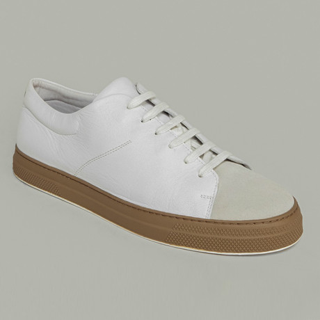 Leather Sneaker // White (US: 7)