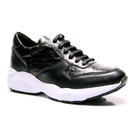 Reprise // Guy Sneaker // Black (Euro: 40)