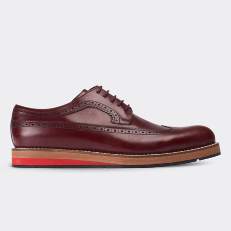 Agustin Casual Shoes // Claret Red (Euro: 38)