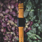 Leather Apple Watch Strap // Classic (Black Hardware)