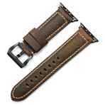 Leather Apple Watch Strap // Terra (Black Hardware)
