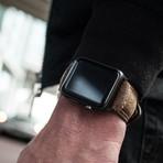 Leather Apple Watch Strap // Vintage (Black Hardware)