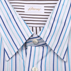 Gregor Striped Dress Shirt // Multicolor (US: 39)