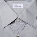 Pierce Solid Dress Shirt // Light Gray (US: 39)