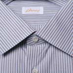 Bryon Striped Dress Shirt // Multicolor (US: 39)