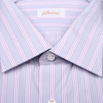 Theodore Dress Shirt // Lavender + Gray (US: 39)