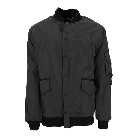 Bomber Jacket // Black (S)