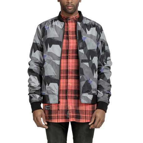 Dixon Bomber Jacket // Black Camo (XS)