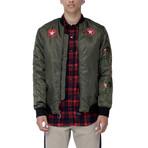 Rosin Bomber Jacket // Olive (XS)