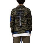 Lyle Camo Moto Jacket // Brown Camo (XS)