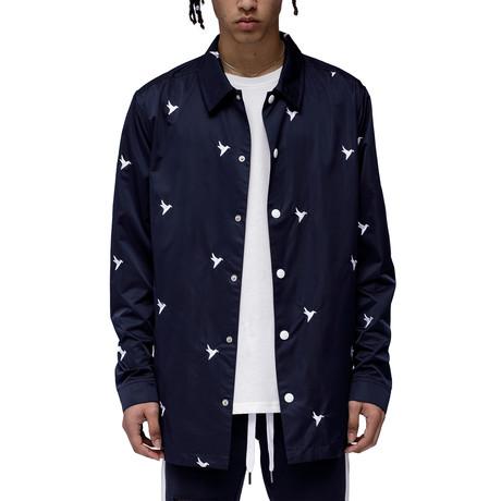 Cassius Coach Jacket // Navy (XS)