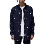 Cassius Coach Jacket // Navy (M)