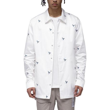 Cassius Coach Jacket // White (XS)