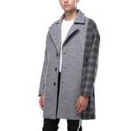Charlie Oversized Wool Blend Coat // Grey (XS)