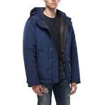 Emery Padded Hooded Jacket // Royal (M)