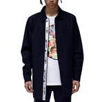 Calvin Shirt Jacket // Navy (XS)