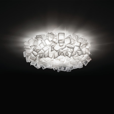 Clizia Ceiling-Wall Lamp // White // Large