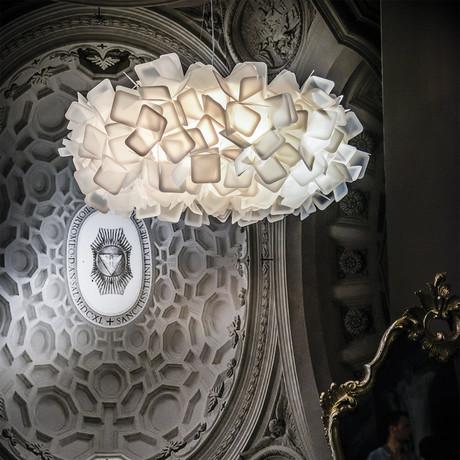Clizia Suspension Lamp // White // Large