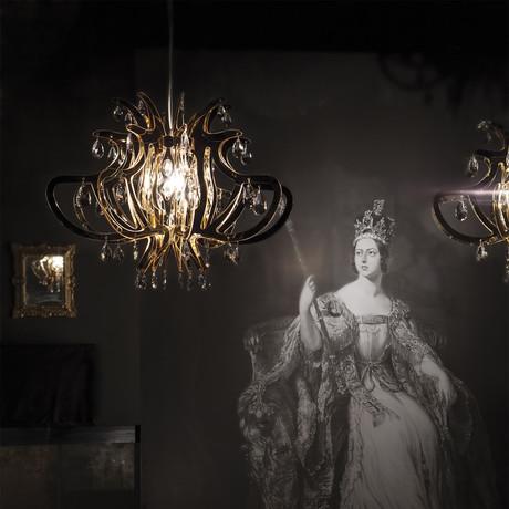 Lillibet Suspension Lamp // Copper