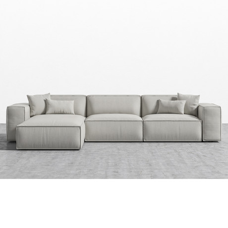 Porter Sectional // Oyster (Left Hand Facing)