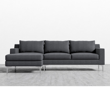 Sophia Sectional Narwhal Left Hand Facing Rove