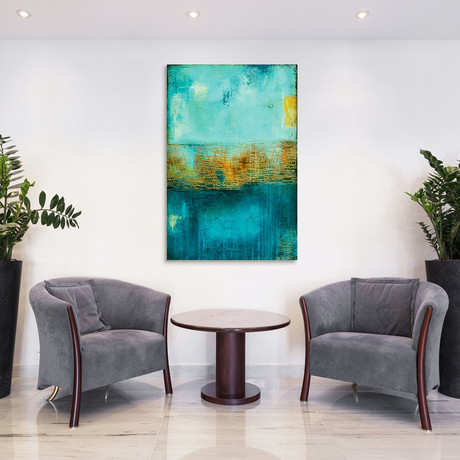 Castle Court // Reverse Printed Tempered Art Glass