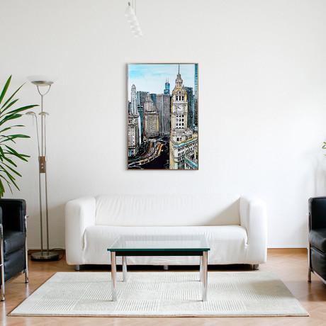 Big Ben View // Anodized Aluminum Rose Gold Frame