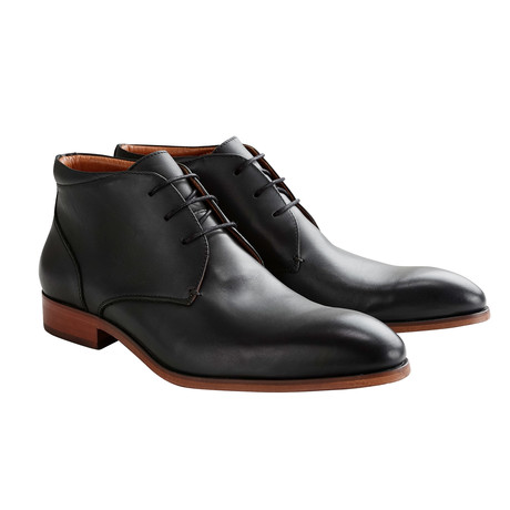 John St. Shoe // Black + Dark Gray (Euro: 40)