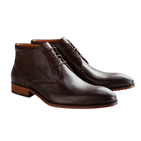 John St. Mid Shoe // Brown (Euro: 40)