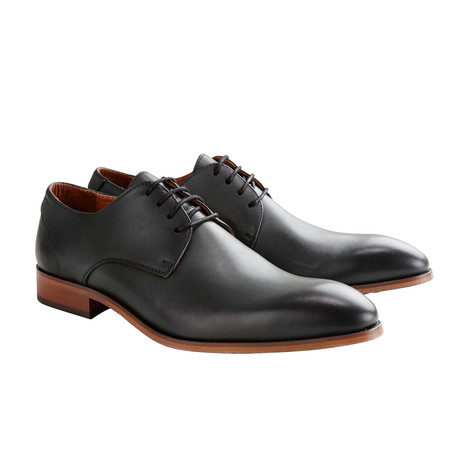 Rector St. Shoe // Black + Dark Gray (Euro: 40)