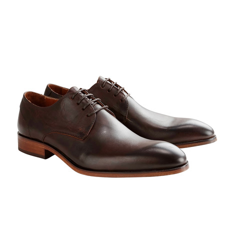 Rector St. Leather Shoe // Brown (Euro: 40)