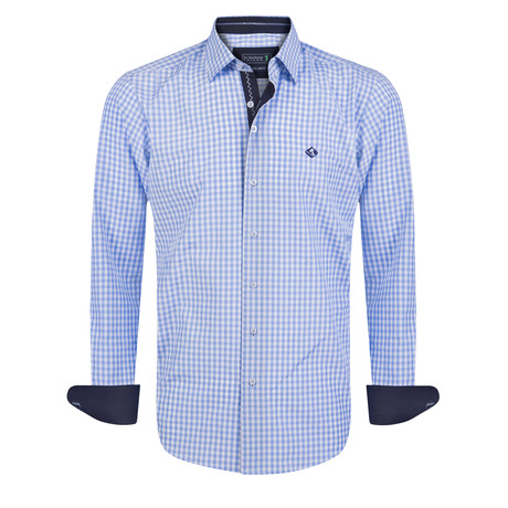 Point Shirt // Blue (XS)