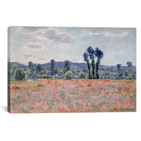 "Poppy Field, 1887 (18""W x 12""H x 0.75""D)"