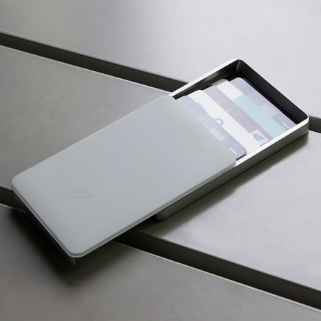 Zenlet 2 Wallet // RFID Blocking Tray (Space Gray)