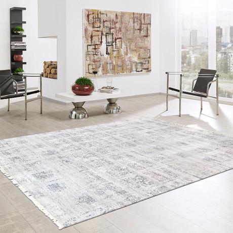 """Cosmo Bamboo Silk Area Rug // Silver II // 6' 2"""" X 9' 3"""""""
