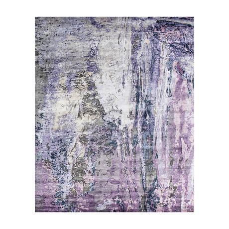 "Cosmo Bamboo Silk Area Rug // Multicolor II // 10' 2"" X 14' 1"""