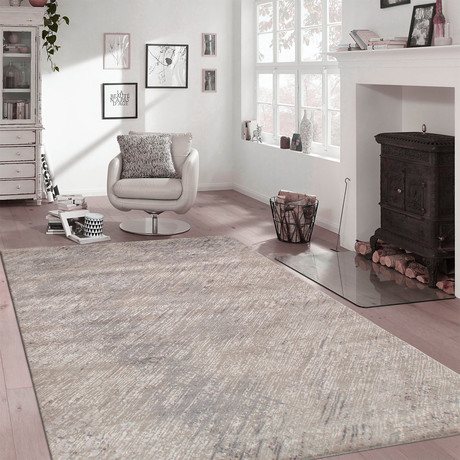 "Cosmo Silk + Wool Area Rug // Multicolor I // 8'10"" X 12' 2"""