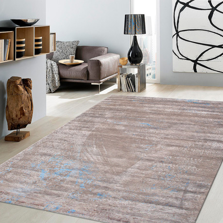 "Cosmo Silk + Wool Area Rug // Multicolor II // 6' 4"" X 9'10"""