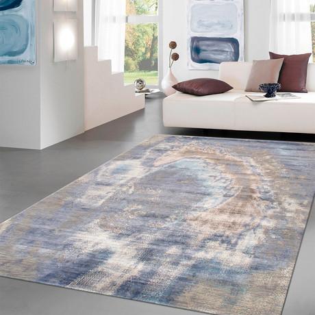 """Cosmo Silk + Wool Area Rug // Multicolor IV // 8' X 10' 1"""""""