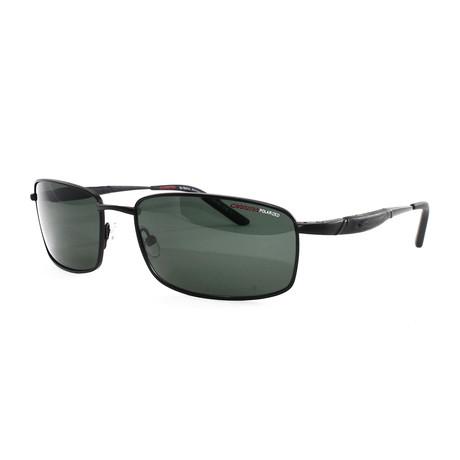 Carrera // Men's 505S Polarized Sunglasses // Black