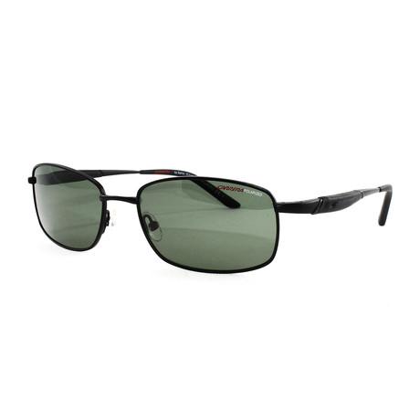 Carrera // Men's 506S Polarized Sunglasses // Black
