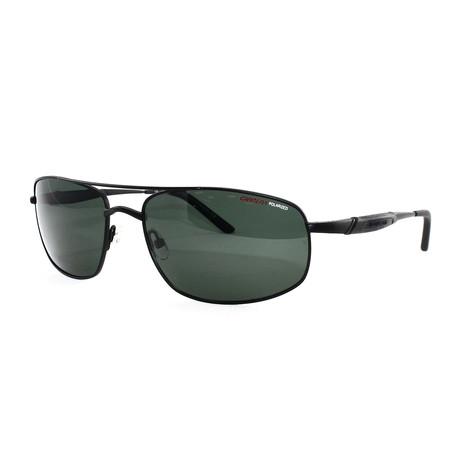 Carrera // Men's 509S Polarized Sunglasses // Matte Black