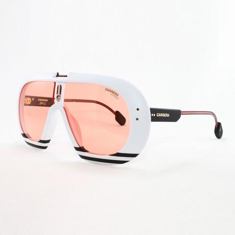Men's Ski Sunglasses // Matte Black + White
