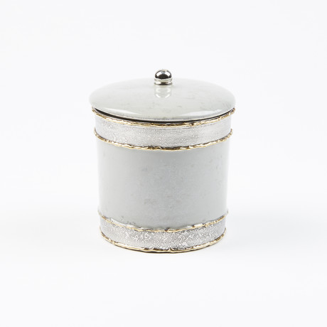 "Cascade 5.5"" Covered Canister Mist"
