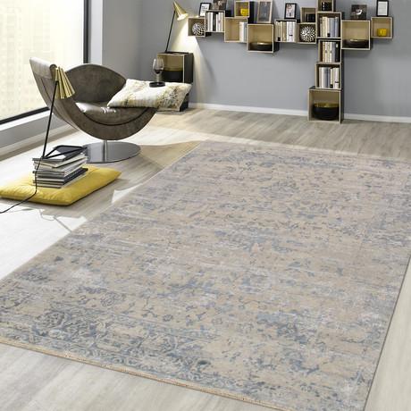"Cosmo Silk + Wool Area Rug // Silver I // 7'11"" X 9'10"""
