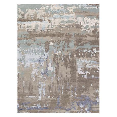 """Cosmo Silk + Wool Area Rug // Silver II // 7'11"""" X 10'"""