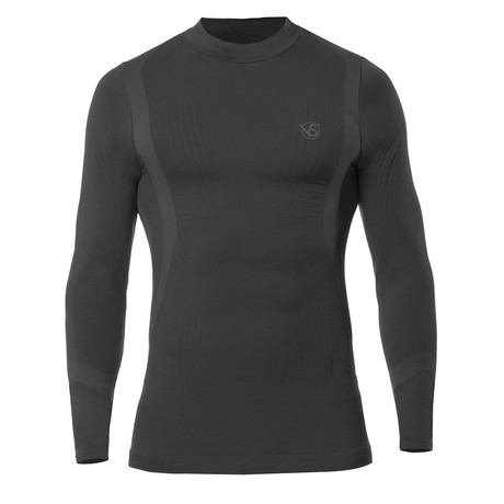VivaSport // 5.0 Thermal Long Sleeve T-Shirt // Black (S/M)
