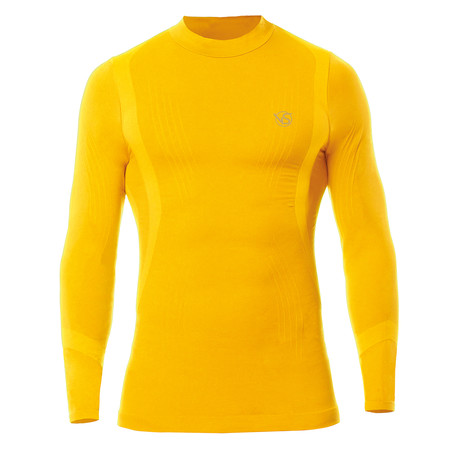 VivaSport // 5.0 Thermal Long Sleeve T-Shirt // Yellow (S/M)