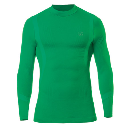VivaSport // 5 Thermal Long Sleeve T-Shirt // Green (S/M)