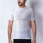 Iron-Ic // 4.0 Extra Light Rete T-Shirt // White (S/M)
